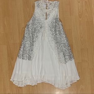 NWOT Mika and Gala lace halter dress